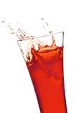 玻璃汁液 免版税图库摄影