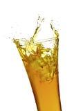 玻璃汁液 免版税库存照片