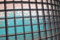 玻璃求纹理的立方 免版税库存照片