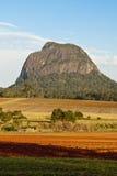 玻璃温室山,昆士兰,澳洲 免版税库存图片