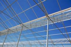 玻璃温室 图库摄影