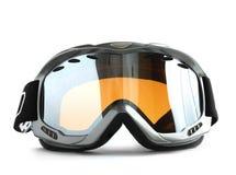 玻璃滑雪体育运动 图库摄影