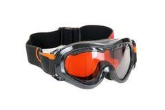 玻璃滑雪冬天 库存图片