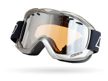 玻璃滑雪 库存照片