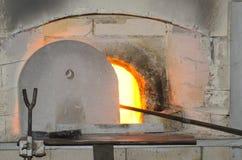 玻璃熔炉 免版税图库摄影