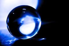 玻璃球摘要 库存图片