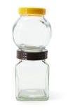 玻璃瓶子 免版税库存图片