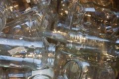 玻璃瓶子 库存照片