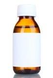 玻璃瓶液体医学 库存照片
