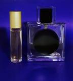 玻璃瓶香水二 库存图片