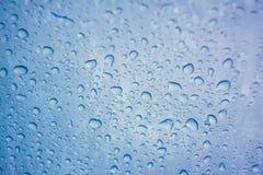 玻璃用水下降结露 库存照片