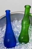 玻璃用水 免版税库存图片