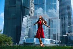 玻璃的大厦 免版税库存照片
