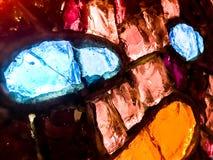 玻璃砖马赛克 免版税图库摄影