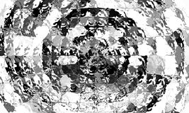玻璃箱子样式 图库摄影