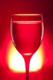 玻璃红色 免版税库存图片