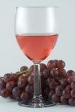 玻璃红葡萄酒 免版税图库摄影