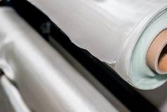 玻璃纤维卷fmr综合工业材料 免版税库存照片