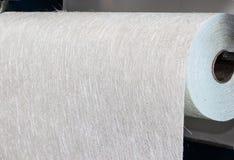 玻璃纤维织品综合卷材料 免版税库存图片