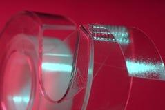 玻璃纸关闭磁带 库存照片