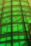 玻璃绿色结构 免版税库存图片