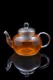 玻璃茶壶 库存照片