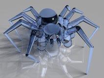 玻璃蜘蛛 图库摄影