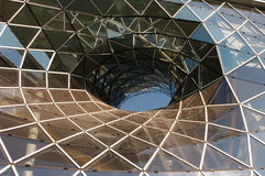 玻璃螺旋 免版税库存图片