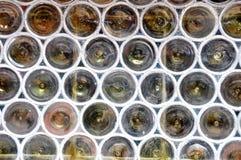 玻璃行间空格特别大的视窗 库存图片