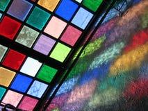 玻璃被弄脏的提华纳 图库摄影