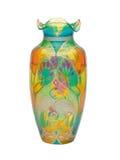 玻璃被弄脏的花瓶 免版税图库摄影