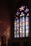 玻璃被弄脏的视窗 库存图片