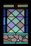 玻璃被弄脏的视窗 免版税库存图片