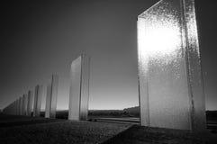 玻璃透视 免版税库存图片