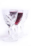 玻璃酒 图库摄影