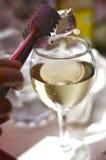 玻璃酒 免版税库存图片
