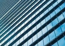 玻璃门面现代修造的外部建筑学摘要 免版税库存图片