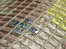 玻璃马赛克 免版税库存图片