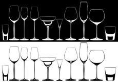 玻璃 向量例证
