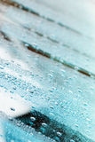 玻璃2的小滴 免版税库存照片