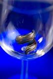 玻璃murano环形 免版税库存图片