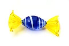玻璃murano甜点 免版税图库摄影