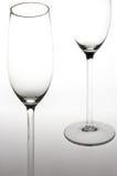 玻璃sektglaeser汽酒 免版税库存照片