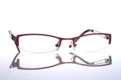 玻璃specs眼镜 库存照片