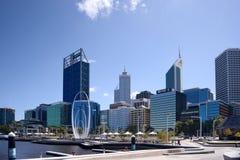 珀斯码头澳大利亚 免版税图库摄影
