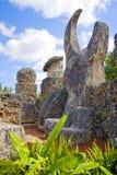 珊瑚城堡 免版税库存照片