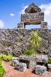 珊瑚城堡 库存照片