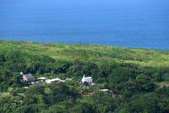 珊瑚奇迹教会, Wailua半岛 免版税库存照片