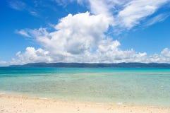 珊瑚岛太平洋 免版税图库摄影