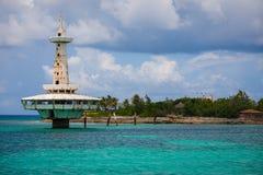 珊瑚岛拿骚巴哈马 免版税图库摄影